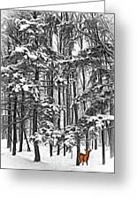 A Snowy Day Sc Greeting Card