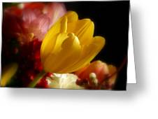 A Softer Shade Of Yellow Greeting Card
