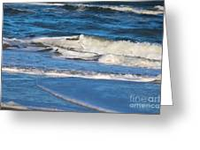 A Splash In The Surf Greeting Card