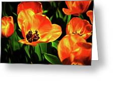 A Splash Of Color Greeting Card