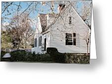 A Spring Day In Colonial Williamsburg Greeting Card