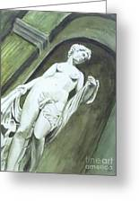 A Statue At The Toledo Art Museum - Ohio Greeting Card