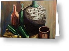 A Still Life IIi Greeting Card