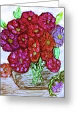 A Summer Bouquet Greeting Card