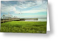 A Summer Evening In Charleston Greeting Card