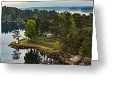A Summer Retreat Greeting Card