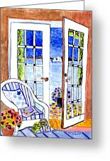 A Summers Afternoon Greeting Card