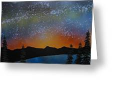 A Summer's Eve At Lake Tahoe Greeting Card