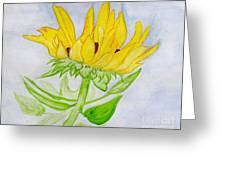 A Sunflower Blessing Greeting Card
