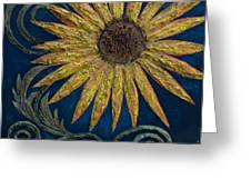 A Sunflower Greeting Card