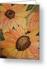A Sunflower Surprise Greeting Card