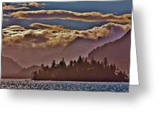 A Sunny Day On The Kachemak Bay Greeting Card