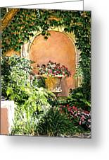 A Sunny Nook Hotel Bel - Air Greeting Card