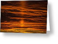 A Sunset Greeting Card