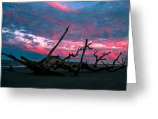 A Sunset On Jekyll Greeting Card