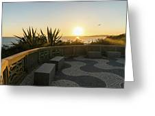 A Sunset Relaxation Zone - Greeting Card