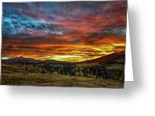 A Sunset To Remember Greeting Card