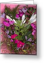 A Symphony Of Flowers Greeting Card