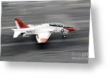 A T-45c Goshawk Training Aircraft Makes Greeting Card