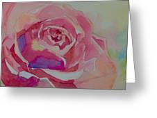 A Tale Of A Rose  Greeting Card