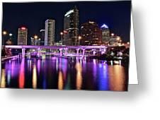 A Tampa Night Greeting Card