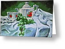 A Time For Tea Greeting Card