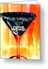 A Toast To The Heart And Mind Greeting Card