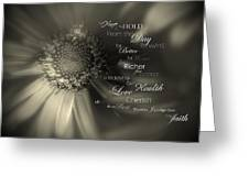 A Traditional Vow Greeting Card