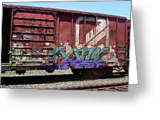 A Train Car Named Desire Greeting Card
