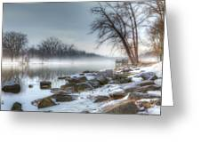 A Tranquil Evening Greeting Card