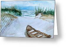 A Trip To The Beach Greeting Card