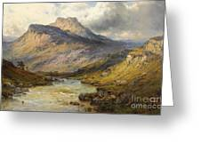 A Trout Stream Near Stirling Greeting Card