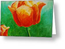 A Tulip For Jolee Greeting Card