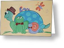 A Turtles Friends Greeting Card