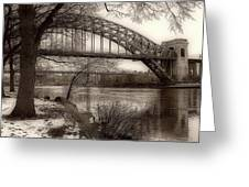 A View From Astoria Greeting Card