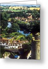 A View From Blarney Castle In Ireland Greeting Card