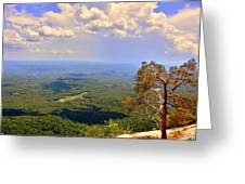 A View From Table Rock Greeting Card