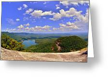 A View From Table Rock South Carolina Greeting Card