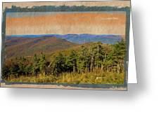 Equinox Mountain, Vermont.             Greeting Card