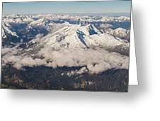 A View From Zugspitze Greeting Card