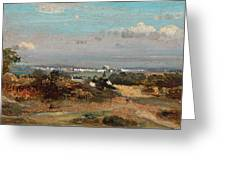 A View In Suffolk Greeting Card