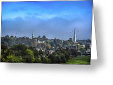 A View Of Bangor Greeting Card