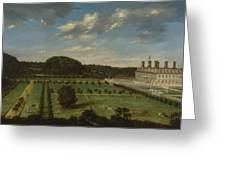A View Of Bayhall Greeting Card