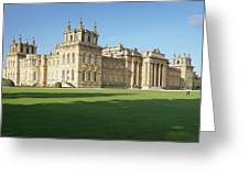 A View Of Blenheim Palace Greeting Card by Joe Winkler