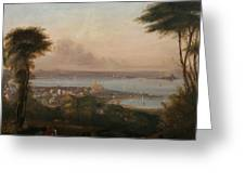 A View Of Penzance Greeting Card
