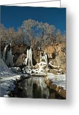 A View Of Rifle Falls Greeting Card