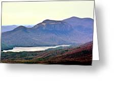 A View Of Table Rock South Carolina Greeting Card