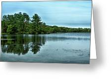 A View Of The Lake Greeting Card
