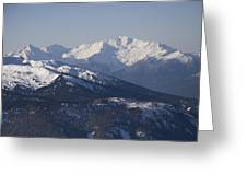 A View Of The Mountains Greeting Card by Taylor S. Kennedy