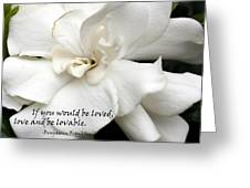 A View On Love Greeting Card